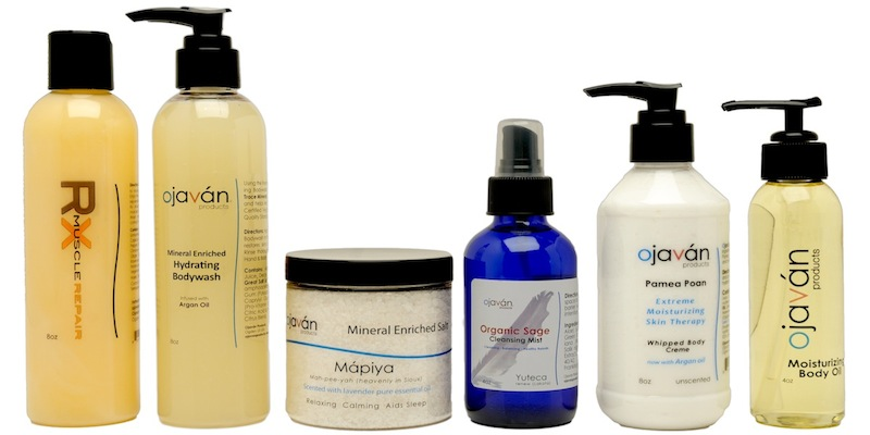 Organic and all natural body care products.